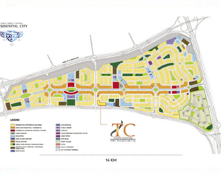 DWC Hotel / Mixed use plot for sale