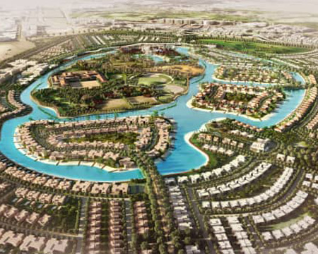 Dubai Hills 3 Villa plots for sale